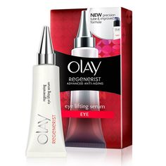 Target those crow's feet and wrinkle prone eye areas by using Olay Regenerist Eye Lifting Serum to get brighter, younger looking eyes. Shop Now!