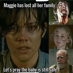 Let's pray the baby is still safe bc that'll b the only biological family or ppl who r related 2 her by marriage family she has left.