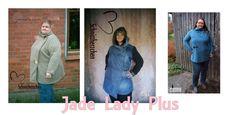 ebook Jacke Jade Lady Plus XL 46/48 - 4XL 58-60 - Schnittmuster und Nähanleitungen bei Makerist