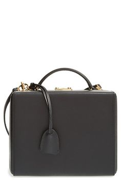 Mark Cross 'Grace - Large' Saffiano Calfskin Box Trunk available at #Nordstrom