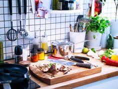 Rohkea kokki tarvitsee oikeat välineet