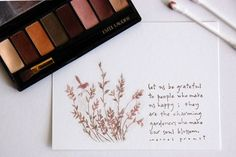 use versamark ink to stamp, then add eye shadows to color!!