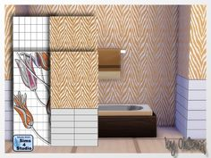 Sims 4 CC's - The Best: Wallpaper by Oldbox