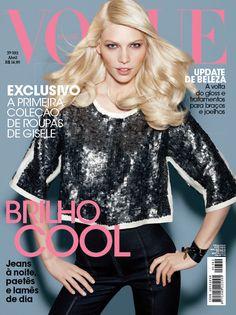 Vogue Brazil April 2011 - Aline Weber Vogue Brasil, Vogue Covers, Vogue  Magazine, 408ec47fbc