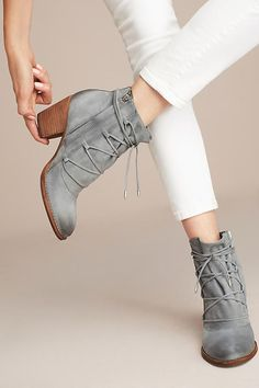 Slide View: 1: Sam Edelman Millard Lace-Up Boots