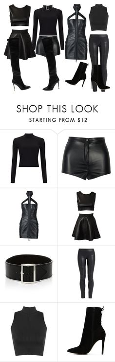 """""""Group Performance"""" by fabulousdumpling ❤ liked on Polyvore featuring Miss Selfridge, Dsquared2, Estradeur, Sophie Buhai, The Row, WearAll, ALDO, Tom Ford, music and Group"""
