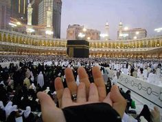 This is so adorable and every true Muslims hope and wish! Inshallah