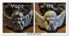 Krek Wak Wou: DIY: rustieke decoratie- en mosballen Diys, Projects To Try, Lion Sculpture, Statue, Crafts, November 2013, Action, Christmas, Xmas