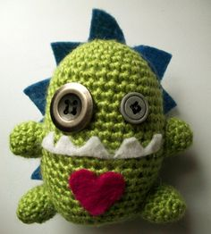 Ugly Doll Monster Crochet Amigurumi Handmade Plush Toy