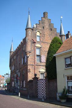 Maarten van Rossum huis Zaltbommel, Gelderland.