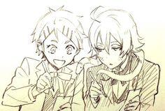Black Butler (Kuroshitsuji) Finny and Snake Black Butler 3, Black Butler Anime, Ciel Phantomhive, Manga Drawing, Drawing Sketches, Drawings, Vocaloid, Nanbaka Anime, Anime Boys