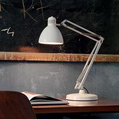 ACHICA   Naska 2 Table Lamp, White