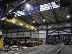 LED verlichting met TL-verlichting voor in de werkplaats