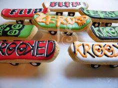 Skateboard Cookies