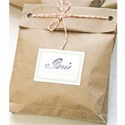 Fun packaging idea- brown paper bags and bakers twine