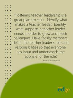 Professional Development: Targeted, Ongoing, and an Opportunity to Develop Teacher Leaders   by Patrice DiMare-Bucci