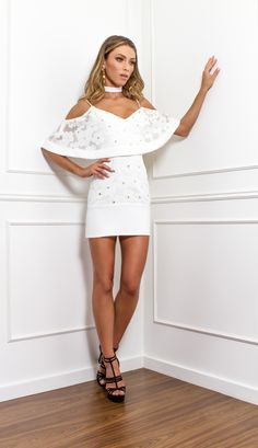 VESTIDO BORDADO RENDA  - VE30057-99 | Skazi, Moda feminina, roupa casual, vestidos, saias, mulher moderna