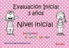 Cuadernillos Totalmente Originales: Evaluación inicial Infantil 3, 4 y 5 años.