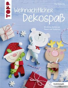 BRAUN Schulbedarf – For school and kindergarten Book: Christmas decoration fun in primary school at school in kindergarten in the kita in the manger with seniors … Paper Christmas Decorations, Christmas Party Themes, Crochet Christmas Ornaments, Christmas Activities, Class Christmas Gifts, Christmas Mood, Christmas Makes, Christmas Projects, Christmas Ideas