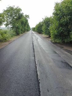 Lucrări de întreţinere şi asfaltare pe drumul judeţean DJ 150A