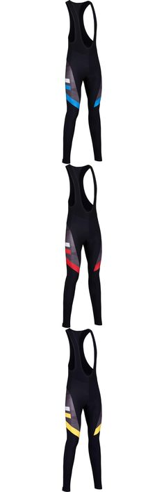 [Visit to Buy] 2016 Haeli Road Men long cycling Bib pants Winter Thermal Fleece Ropa Ciclismo/cycling mountian MTB bike long pants black/blue #Advertisement