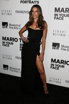 Look of the Day: Alessandra Ambrosio Gets Leggy