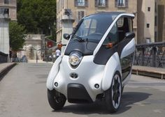 Three-Wheeled Toyota i-ROAD Electric Vehicle Becomes Part of France's Smart City Car Sharing Program