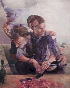 Современная живопись Адама Лаптона (Adam Lupton)
