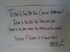 when family we love break us | Breakup Advice: Man Pins Inspirational Note To Ceiling As Motivation ...