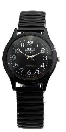 Partnerlook Doppel-Set: 2 x Armbanduhren für Mann und Frau - unterschiedliche Größen - gleiches Aussehen! - http://uhr.haus/amber-time-3/partnerlook-doppel-set-2-x-armbanduhren-fuer-mann