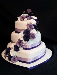 Torte nuziali a forma di cuore (Foto 10/40) | PourFemme