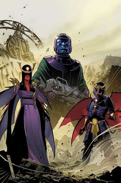 KANG Enters AGE OF ULTRON in UNCANNY AVENGERS #8AU