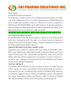 regulatory affairs cover letter sample httpmegagipercom201704 - Regulatory Affairs Cover Letter