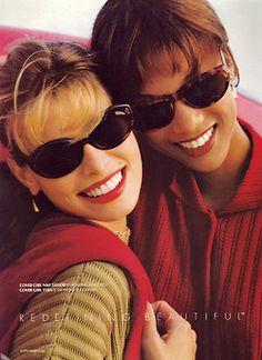 Niki and Tyra for Cover Girl, 1993