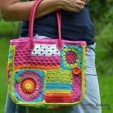 Resultado de imagen para crochet boho handbag DIY pattern