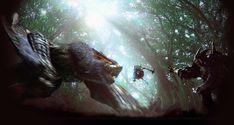 Jeux Vidéo Monster Hunter  Fond d'écran