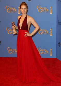 Amy Adams At The 71st Annual Golden Globe Awards In Beverly Hills