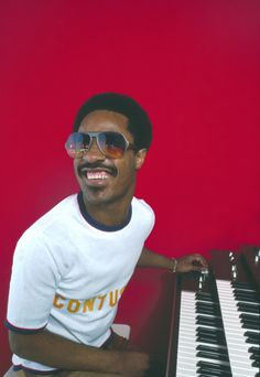 Stevie Wonder-I think he is so talented and a real inspiration to many