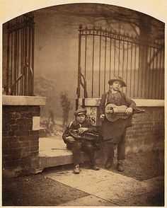 Camille Silvy (born Nogent-le-Rotrou, France, 1834; died Saint-Maurice, France, 1910): about 1855, Street Musicians