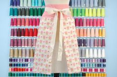 This comes from Atomic Aprons on Etsy. It is just so feminine.