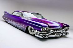 """1959 Cadillac """"WildCad"""" built by Mario Colalillo and painted by Gene Winfield. N… – Oldtimer/Tuning USA – 1959 Cadillac """"WildCad"""" von Mario Colalillo gebaut und von Gene Winfield gemalt. N … – Oldtimer / Tuning USA – 1959 Cadillac, 1957 Chevrolet, Chevrolet Trucks, Chevrolet Impala, Chevelle Ss, Chevy Camaro, Corvette, General Motors, Bmw"""