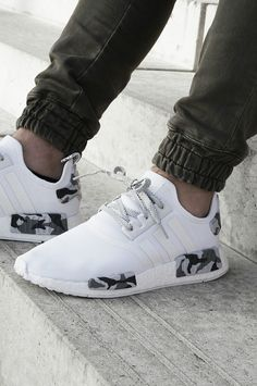 Customized Adidas NMD Snow Camo ,Adidas Shoes Online,#adidas #shoes