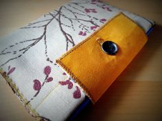 Upholstery fabric iPad cover