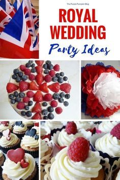 Royal Wedding Party Ideas - lots of ideas from decor to food to help you plan and throw a Royal Wedding Viewing Party!