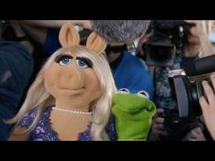 Kermit Gets Set Up, feat. Miss Piggy, Kermit the Frog, Julie Bowen, Viola Davis and Joel McHale - YouTube