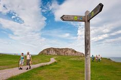 Where in the world can you walk the entire coastline of a country in just one path? … … … Wales! The Wales Coast Path opened in May 2012, offering you 870 miles of picturesque and idyllic Welsh landscapes.