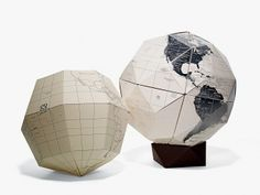 Small World A map without colors is like beer without hops. Geografia's Sectional Globes come with individual paper sections of Earth that c...