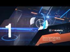 (4) Sports Tonight | Cinema 4D Workshop | Part 1 - YouTube