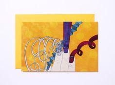 Finger nail party-Art print-Postcard by Pionara on Etsy