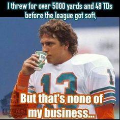 So true #legend... Nfl Football Players, Football Stuff, Football Girls, Football Season, 1972 Miami Dolphins, Dolphins Cheerleaders, Detroit History, Fin Fun, Sports Figures